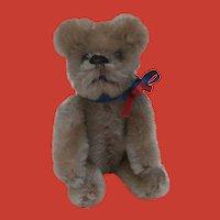 Schuco  Mr Grumpy.  Vintage Miniature Teddy Bear