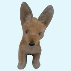 Gorgeous Steiff Xorry, Desert  Fox, No Id's 1967 to 1970