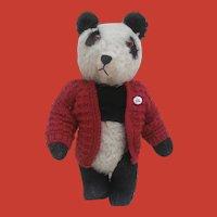 Well Loved Pan Pan, Vintage Panda Bear