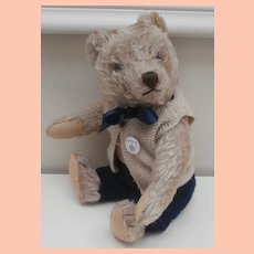 Peter, Steiff Original Teddy , 1956 to  1966, Steiff Button