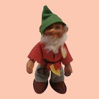 Steiff Pucki Dwarf Doll, 1959 to 1964, Steiff Button and Chest Tag
