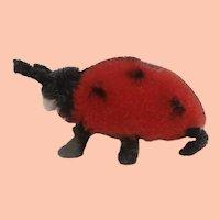 Gorgeous  Miniature Mascot Series  Vintage Schuco Ladybird