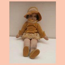 Wonderful Deans Cloth 'Modern Doll ' 1929 to 1932