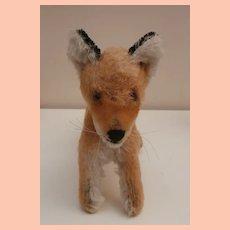 Steiff Xorry Fox, No Id's. 1960 to 1964