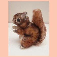 Steiff Perri Squirrel , Smallest Size ,The Walt Disney Movie , Chest Tag, Button , 1965 to 1970