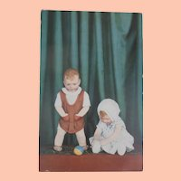 Early Kathe Kruse Doll Postcard 1931