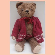 Grumble, Vintage Teddy Bear