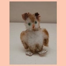 Gorgeous Vintage Miniature Schuco Mascot Owl