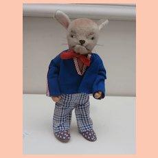 Vintage Kersa Bunny Rabbit, All Original, No Label