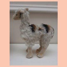 Steiff Llama, Lama , No Id's 1968 to 1969