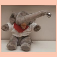 Peter, Steiff Jumbo Elephant , No Id's 1968 to 1975
