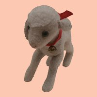 Well Loved Steiff Lamby Lamb, No Id's 1953 to 1960