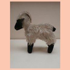Steiff Snucki Mountain Sheep ,No Id's 1965 to 1967