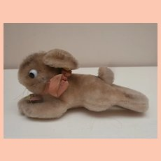 Steiff Lying Rabbit 1953 to 1958, Button and Tag