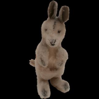 Steiff Kangaroo 1967 to 1974, No Id's