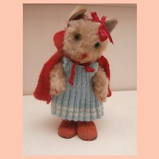 Well Loved VIntage Kersa Cat A/F