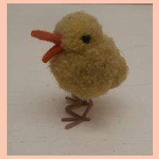 Miniature Wool Pompom Duck 1959 to 1964, No Id's