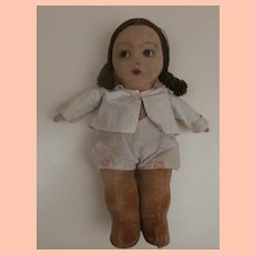Molly, Well Loved Norah Wellings Jolly Toddler Doll, 1930's