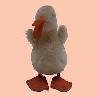 Steiff Smallest Size Play Duck, 1965 to 1967, Steiff Button
