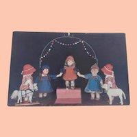 Early Kathe Kruse Doll Postcard A/F