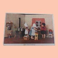 Early Kathe Kruse Doll Postcard, 1935, A/F