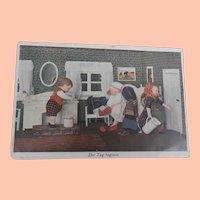Early Kathe Kruse Doll Postcard 1930's