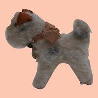 Steiff Foxy, Fox Terrier Dog 1959 to 1964, Steiff Chest Tag A/F