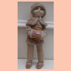 Deans Betty Oxo Cloth Doll 1930 A/F