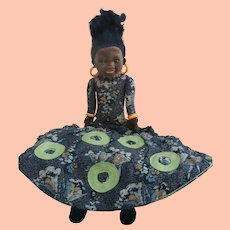 Lovely Norah Wellings Islander Boudoir Nightdress Case Doll 1933 to 1935
