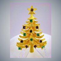 Pristine Mylu Rhinestone Christmas Tree