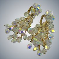 Mesmerizing Vogue Runway Evening Aurora Borealis Earrings