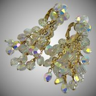 Mesmerizing Vogue Runway Evening Aurora Borealis Earrings