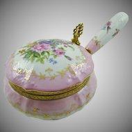 VIctorian Style Porcelain Silent Butler