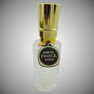 Marcel Franck Paris Pressed Glass Spray Bottle with Box
