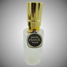 Marcel Franck Paris Pressed Glass Spray Bottle with Box