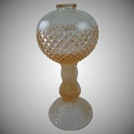 Westmoreland Pink English Hobnail Water Lamp Base