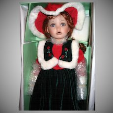 Seymour Mann Christmas Doll ~ Connoisseur Collection