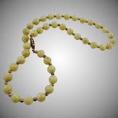 Riverstone Jasper Necklace
