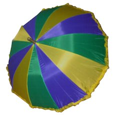 New Orleans Mardi Gras Umbrella