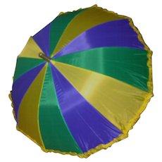 New Orleans Mardi Gras Umbrella