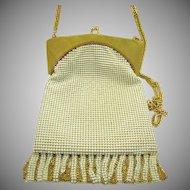 Whiting & Davis Art Deco Style Evening Bag