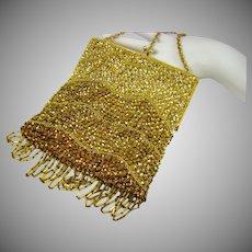 Italian Beaded Evening Bag by Designer Harry Rosenfeld