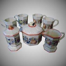Avon Sweet Country Harvest Coffee/Tea Set