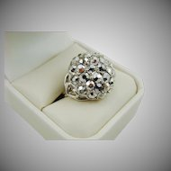 Comet Argent Light Evening Ring ~ Sarah Coventry