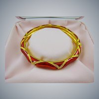 Camrose & Kross Audrey Hepburn Red Bangle