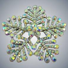 Stunning Snowflake Brooch