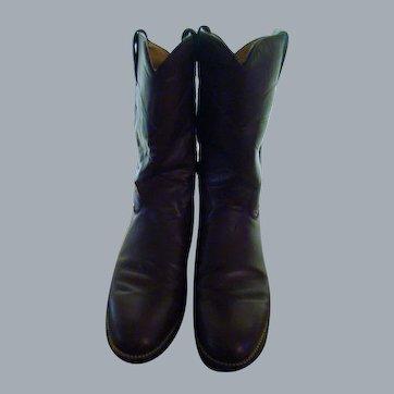 Womens Justin Roper Boots
