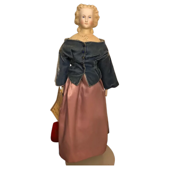 Beautiful Parian Lady doll, circa 1860