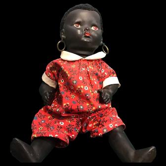 Black English Pedigree Doll