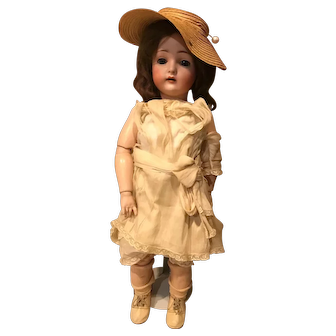 Beautiful German Bisque Head Doll